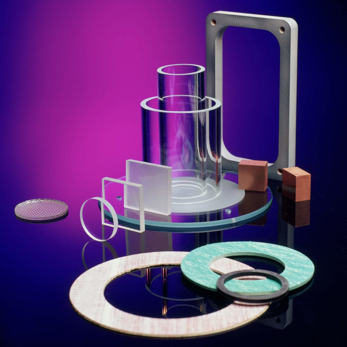 Fabricated Industrial Glass and Gaskets