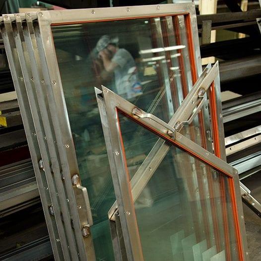 Laminated Glass Blast Resistant Shields