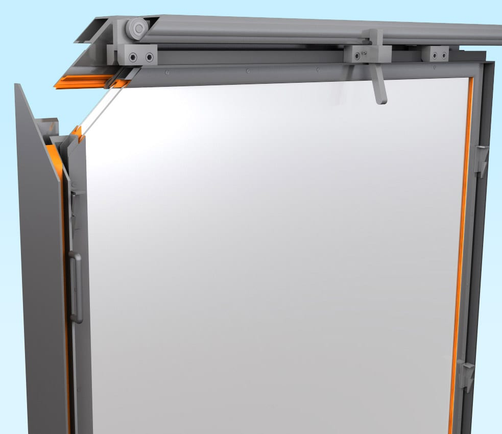 Heavy Duty Overhead rolling window