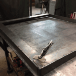 Blast-resistant Window frame with TIG welding